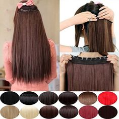 Synthetic Clip-in One Piece Diligent S-noilite 24 Synthetic Hair Clips In Hair Extension Long Wavy Curly Women Hairpieces 5 Clips Ins Blonde Pink Red White Grey Factory Direct Selling Price Hair Extensions & Wigs