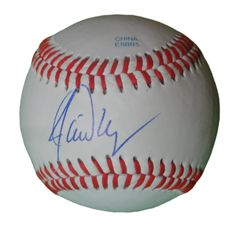 Jamie Moyer Autographed Rawlings ROLB1 Leather Baseball, Proof Photo