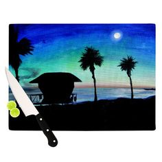 Found it at Wayfair - Carlsbad State Beach Cutting Board