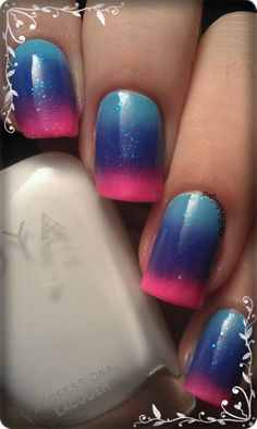 Cool nails i want to be a nail stylist and hair so got to get good ideas and this is pretty legit so ya!!!