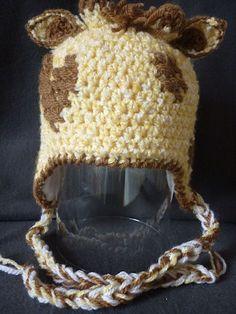 Layette: bonnet girafe