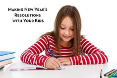 Making New Year's Resolutions with your Kids (a great idea for anytime of the year!) // blog.rightstart.com
