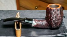STUNNING S. Bang Pipe - Sandblasted Panel - Top of the Line - Denmark - SATXpipe | Collectibles, Tobacciana, Pipes | eBay!