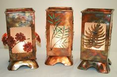 copper lamps - Google Search Copper Bathroom, Copper Kitchen, Kitchen Lighting, Bathroom Lighting, Copper Lamps, Outdoor Lighting, Candle Holders, Curtains, Candles