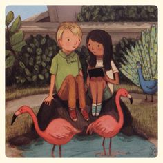 l Flamingo Art, Pink Flamingos, Mafia, Unicorns, Mermaids, Pretty In Pink, Birds, Chicken, Friends