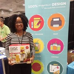 And just like that here's another lucky winner of this juicy prize!  We are having so much fun at the #smallbizexpo! Stop by booth 102 to join in on the fun with the Juicers! #smallbiz #smallbusiness #business #entrepreneur #boss #agency #marketing #design#grahicdesign #graphics #atlanta #getcreative #thejuicers