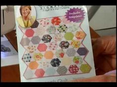 ▶ Honeycomb Quilt - YouTube