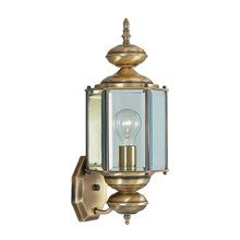 View the Livex Lighting 2006 1 Light 100W Outdoor Wall Sconce with Medium Bulb Base and Clear Beveled Glass from Outdoor Basics Series at LightingDirect.com.
