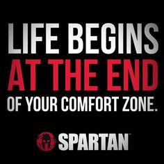 Life Begins At The End of Your Comfort Zone - Tap the pin if you love super heroes too! Cause guess what? you will LOVE these super hero fitness shirts! Race Quotes, Motivational Quotes, Inspirational Quotes, Son Quotes, Fit Girl Motivation, Motivation Inspiration, Spartan Quotes, Spartan Race Training, Warrior Quotes