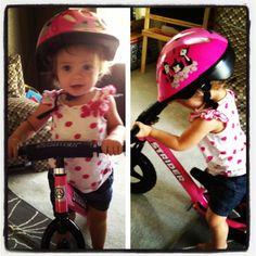 Strider bike!