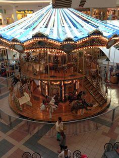 Double Decker Carousel in Fort Wayne, Indiana