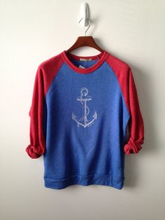 Anchor . Champ Sweatshirt by greythread on Etsy, $50.00