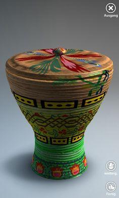 Trophische Vase