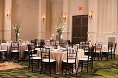 Wedding reception at the Renaissance Raleigh North Hills Hotel | www.SouthernbrideandGroom.com | Photo @ginnycorbett