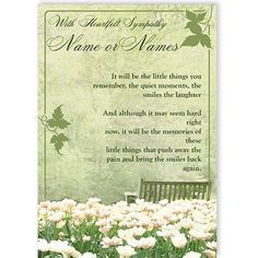 Sympathy - QuickClickCards - Your design, your message Sympathy Greetings, Sympathy Cards, Personalized Greeting Cards, Special Occasion, Messages, Memories, Beautiful, Design, Memoirs