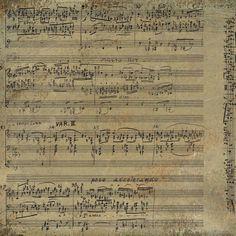 Sisters' Warehouse: Spartiti Musicali Vintage - Vintage Music Sheets