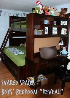 Shared Spaces: Bunk Beds For Kids (Reveal!)