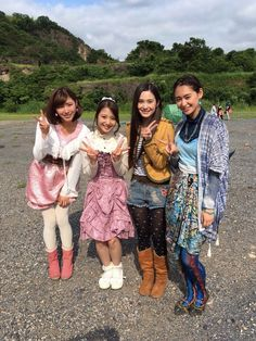 Gokaiger and zyuohger female cast !!!