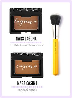 Bronzers for your makeup kit, nars bronzers, powder bronzers, where do you apply your bronzer, bdellium brushes, bronzer brush, bronzer for fair skin, bronzer for dark skin