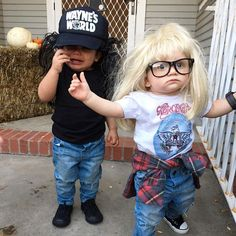 Hilarious Kids' Halloween Costumes - PureWow kids costumes 10 DIY Halloween Costumes for Kids Who Are Just Too Cool Funny Kid Halloween Costumes, Halloween Bebes, Looks Halloween, Cute Halloween Costumes, Halloween Diy, Cute Toddler Halloween Costumes, Funny Toddler Costumes, Baby Halloween Costumes For Boys, Kids Costumes Boys