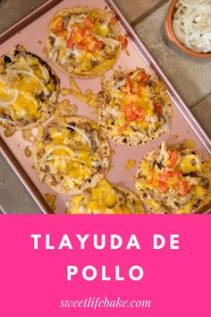 Tlayuda is a popular street snack in Oaxaca. Six corn tortillas are cooked over a steaming comal until lightly golden. Topped with a thin layer of asiento (pork fat), piping hot refried beans, freshly made chorizo and plenty of queso. Tlayudas are the ultimate on-the-go snack. #tlayuda #sweetlifebake #sweetlife #sweetliferecipes | sweetlifebake.com @sweetlifebake