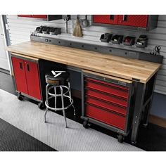 Get the Gladiator 7 Piece Workbench Set Today From Garage Storage Direct and Receive Free Shipping
