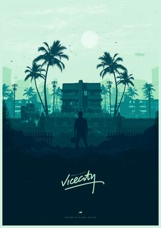 Welcome back to Vice City - Poster Spy
