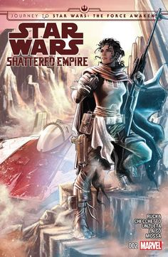 """Star Wars: Shattered Empire 2"" (2015) Cover di Marco Chechetto #StarWars #ShatteredEmpire #GregRucka #MarcoChecchetto #Marvel"