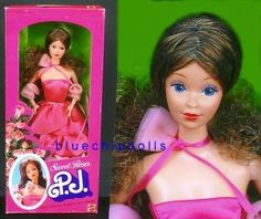 Sweet Roses PJ was my favorite Barbie for a long time.