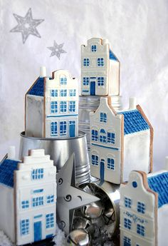 Little houses christmas   Cookie Connection