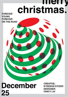 christmas poster Merry Christmas Poster on Behance Minimalist Graphic Design, Graphic Design Posters, Graphic Design Typography, Graphic Design Illustration, Poster Layout, Poster On, Poster Prints, Christmas Graphic Design, Merry Christmas Poster