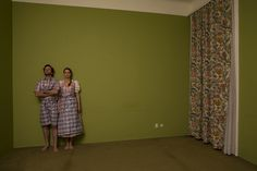 Artist Catharina Bond is working with photography, painting and installations, to express a critical but humorous view on society. Green Rooms, Photo Projects, Vienna, Bond, Contemporary Art, Leather Pants, Costume, Shit Happens, Summer Dresses