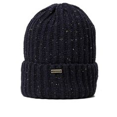 Barbour Tyne Turnback Beanie - Hats - Departments 62479f084dd9