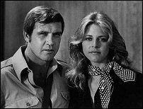 The Bionic Woman, Jaime Sommers (Linsay Wagner) and The Six Million Dollar Man, Steve Austin (Lee Majors), 1975-76
