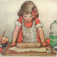 Jessie Willcox Smith - Good Housekeeping by totally vintage, via Flickr