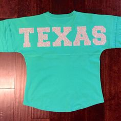 Silver Glitter BIG Texas Jersey by TexasSweetTees on Etsy https://www.etsy.com/listing/220103718/silver-glitter-big-texas-jersey