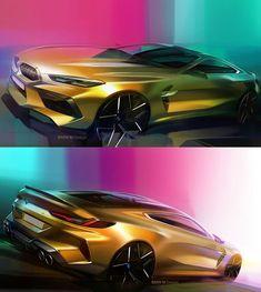 Car Design World ( Bmw Design, Car Design Sketch, Bmw Sketch, Bmw Concept Car, Car Interior Sketch, Street Racing Cars, Industrial Design Sketch, Automobile, Motorcycle Design