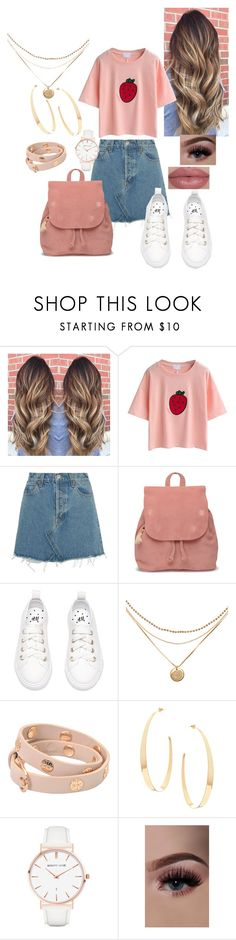"""""""Untitled #627"""" by t-hoosang ❤ liked on Polyvore featuring RE/DONE, TOMS, Tory Burch, Lana and Abbott Lyon"""