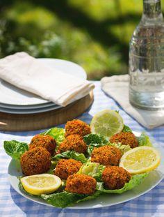 lentil balls! Vegetarian bliss!