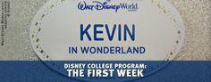 Disney College Program: The First Week