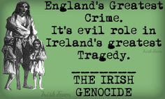 It was not a famine as there was plenty of food other than potatoes. Potato Famine, Irish Famine, Irish Potatoes, Erin Go Bragh, Irish Celtic, Emerald Isle, Northern Ireland, American History, How To Find Out