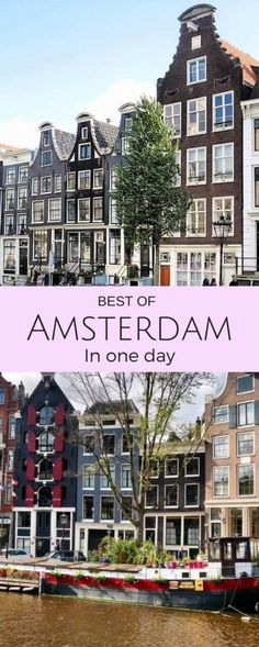 Our guide to the best of Amsterdam in one day. A tried and tested itinerary with the must see Amsterdam attractions you can see with one day in the city. What to see in Amsterdam, where to eat, how to get around. Amsterdam Attractions, Amsterdam Itinerary, Amsterdam City Guide, Amsterdam Red Light District, Amsterdam Travel, Amsterdam Must See, Amsterdam In A Day, Amsterdam Netherlands, Travel Netherlands