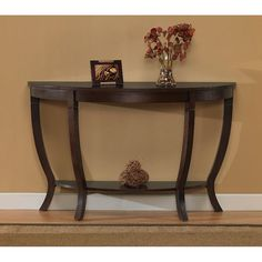 Lewis Wood Sofa Table, Brown