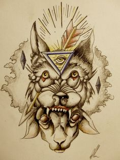 I've fallen in love again with old school tattoo designs so have made a start on designing my own. Old School Wolf Tattoo Design Wolf Tattoo Design, Archery Tattoo, Werewolf Tattoo, Old School Tattoo Designs, Tattoo Sketches, Tattoo Shop, Tatting, Deviantart, Wolves