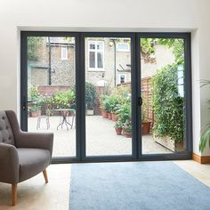 grey bi fold doors - Google Search | Get in My House | Pinterest ...
