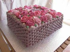 basket weave frosting | Basketweave | Flickr - Photo Sharing!