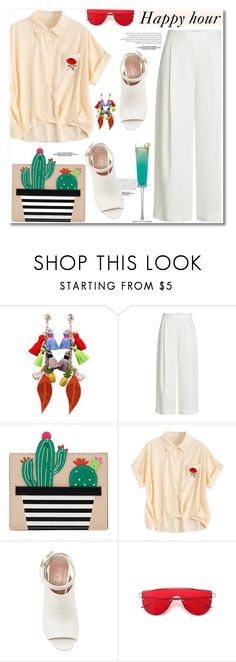 """""""Happy Hour"""" by paculi ❤ liked on Polyvore featuring Diane Von Furstenberg, Kate Spade, Marni, Margarita and happyhour"""