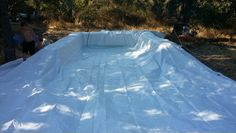 Our Hay Bale pool