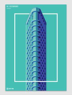 10 Towers of the Netherlands | Abduzeedo Design Inspiration