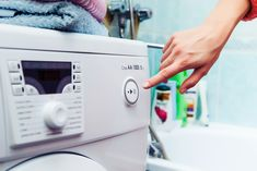 A portable washer and dryer is awesome for a small space or if you dont have hookups Doing Laundry, Laundry Hacks, Laundry Rooms, Deep Cleaning, Cleaning Hacks, Spring Cleaning, Apartment Washer, Portable Washing Machine, Washing Machines